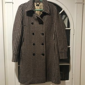 J.Crew Herringbone Coat